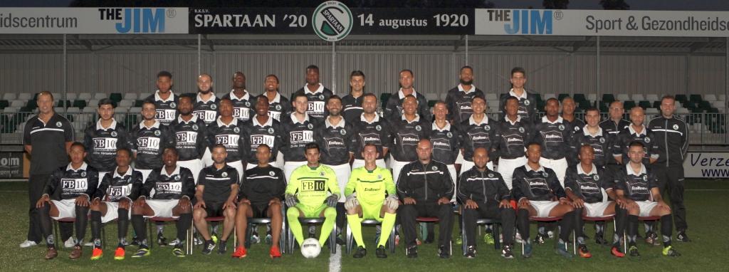 Spartaan '20 Zondag 1 & 2 2016-2017